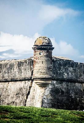 Photograph - Castillo De San Marcos In Saint Augustine Florida by Parker Cunningham