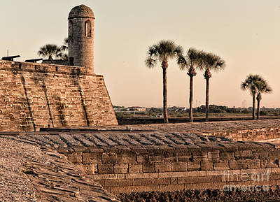 Photograph - Castillo De San Marcos by Mary Lou Chmura