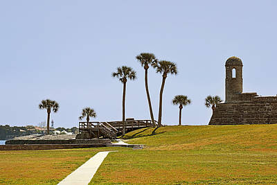North American Photograph - Castillo De San Marcos St Augustine Fl by Christine Till