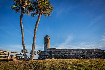Photograph - Castillo De San Marcos St Augustine Florida Painted  by Rich Franco