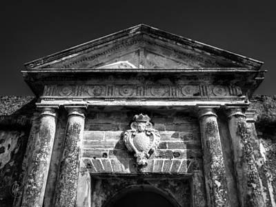 Photograph - Castillo San Felipe Del Morro 001 Bw by Lance Vaughn