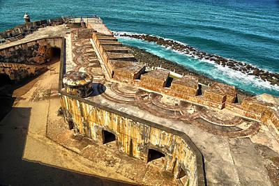 Castillo San Felipe Photograph - Castillo San Felipe Del Morro 2 by Mitch Cat