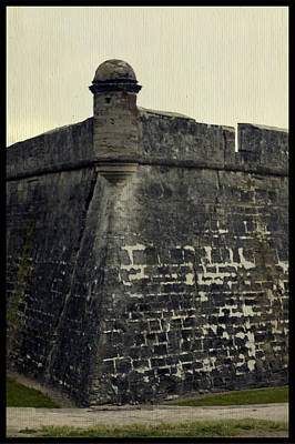 Photograph - Castillo San Marcos 4 by Laurie Perry