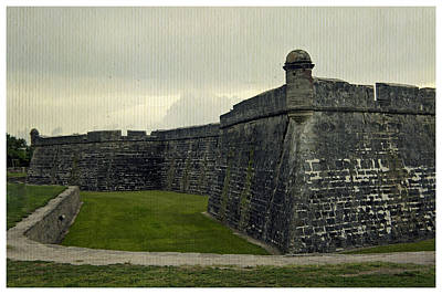 Photograph - Castillo San Marcos 5 by Laurie Perry