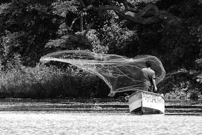 Photograph - Casting On Lake Nicaragua by David Beebe