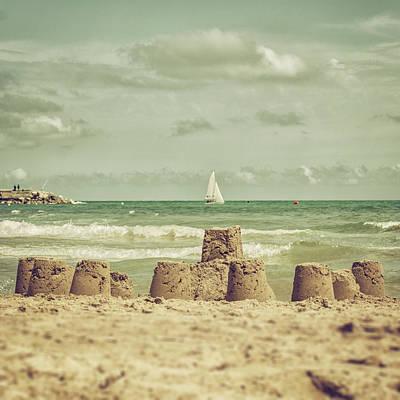 Photograph - Castle And Sails by Copyright Alex Arnaoudov
