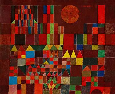 Painting - Castle And Sun by Paul Klee