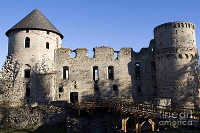 Kim Fearheiley Photography - Castle at Cesis Latvia by Jason O Watson