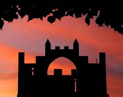 Photograph - Castle At Sunset by Guy Pettingell