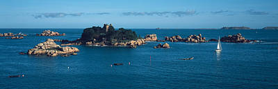 Perros Photograph - Castle At The Coast, Costaeres Castle by Panoramic Images