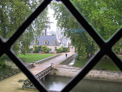 Photograph - Castle Azay-le-rideau by Ellen Meakin