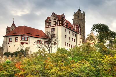 castle Bernburg Art Print by Steffen Gierok