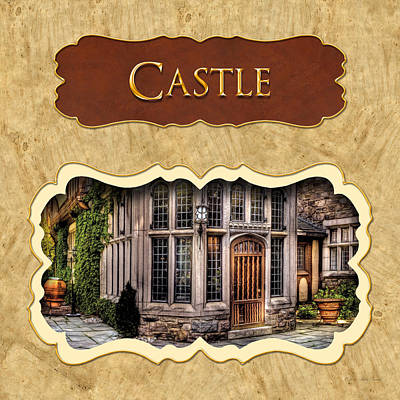 Photograph - Castle Button by Mike Savad