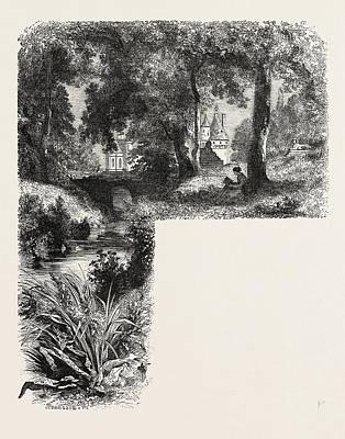Castle Chenonceaux Art Print