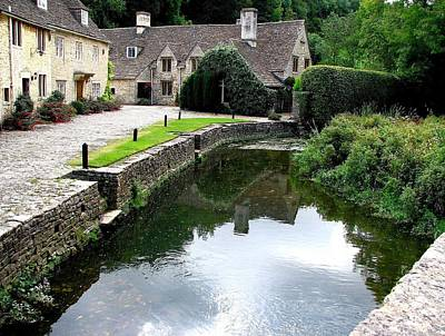 Photograph - Castle Combe 2 by Diane Height