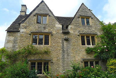 Photograph - Castle Combe House by Denise Mazzocco