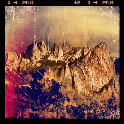 Photograph - Castle Crags by Jill Battaglia