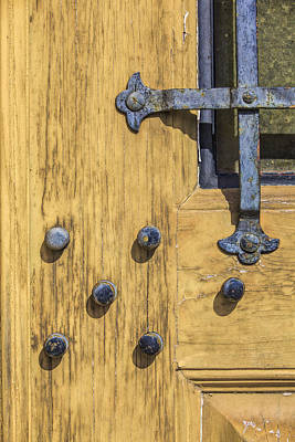 Photograph - Castle Door by David Letts