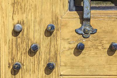 Photograph - Castle Door II by David Letts