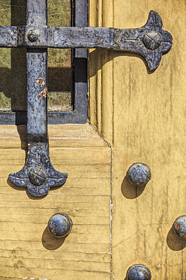 Photograph - Castle Door IIi by David Letts