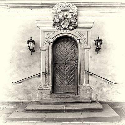 Entrances Photograph - Castle Door by Marcia Colelli