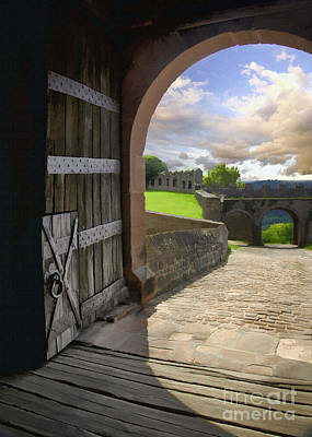 Photograph - Castle Door by Sharon Foster