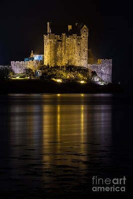 Photograph - Castle Eilean Donan Scotland by Gabor Pozsgai