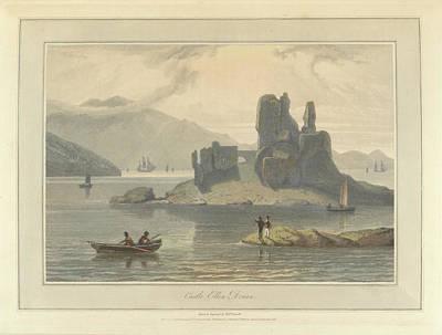 Castle Ellen Donan Print by British Library
