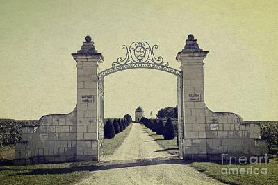 Castle Gateway Of Ancient Times Art Print