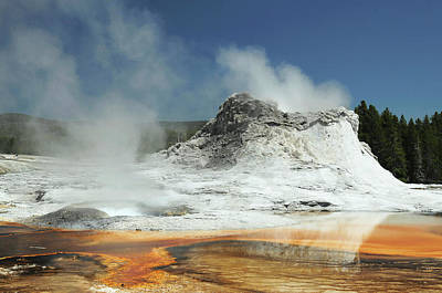 Castle Geyser, Yellowstone National Art Print