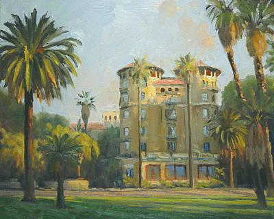 Pasadena Painting - Castle Green - Pasadena by Armand Cabrera