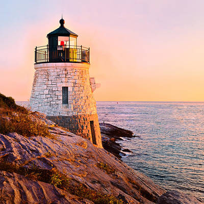 Photograph - Castle Hill Light 3 by Marianne Campolongo