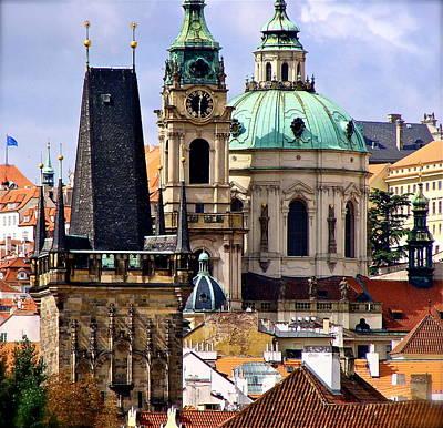 Castle Hill Prague Original by Ira Shander