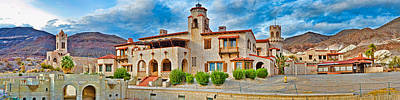 Residential Structure Photograph - Castle In A Desert, Scottys Castle by Panoramic Images