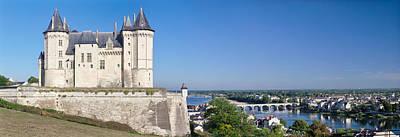 Chateau Photograph - Castle In A Town, Chateau De Samur by Panoramic Images