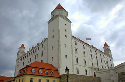 Photograph - Castle In Bratislava by Caroline Stella