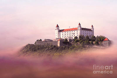 Castle In The Air II. - Bratislava Castle Print by Martin Dzurjanik