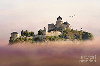 Castle In The Air IIi. - Trencin Castle Print by Martin Dzurjanik