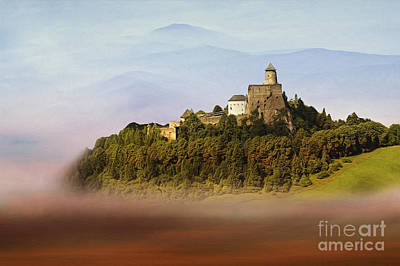 Castle In The Air Iv. - Lubovna Castle Print by Martin Dzurjanik
