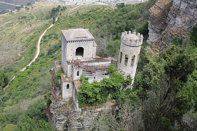 Erice Photograph - Castle In The Sky by Christine Rivers