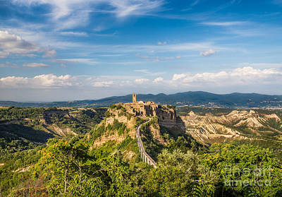 Tuscany Photograph - Castle In The Sky by JR Photography