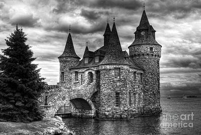 Stone Buildings Photograph - Castle In The Sky by Mel Steinhauer