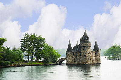 Castle In The St Lawrence Seaway Art Print