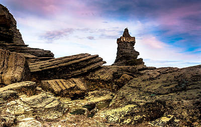 Photograph - Castle In The Wind by Edgar Laureano