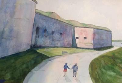 Castle Island Art Print by Pat Steiner