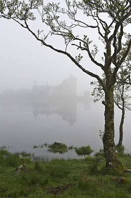 Photograph - Castle Kilchurn Tree by Gary Eason
