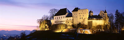 Castle Lenzburg, Switzerland Print by Panoramic Images