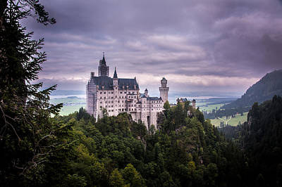 Photograph - Castle Neuschwanstein by Patrick Boening