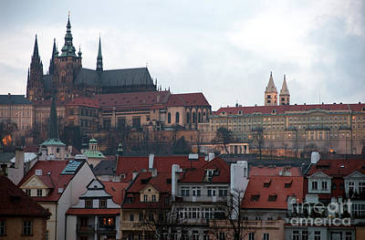 Photograph - Castle Of Prague by John Rizzuto