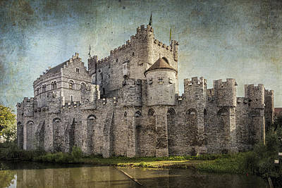 Fantasy Royalty-Free and Rights-Managed Images - Castle of the Counts by Joan Carroll